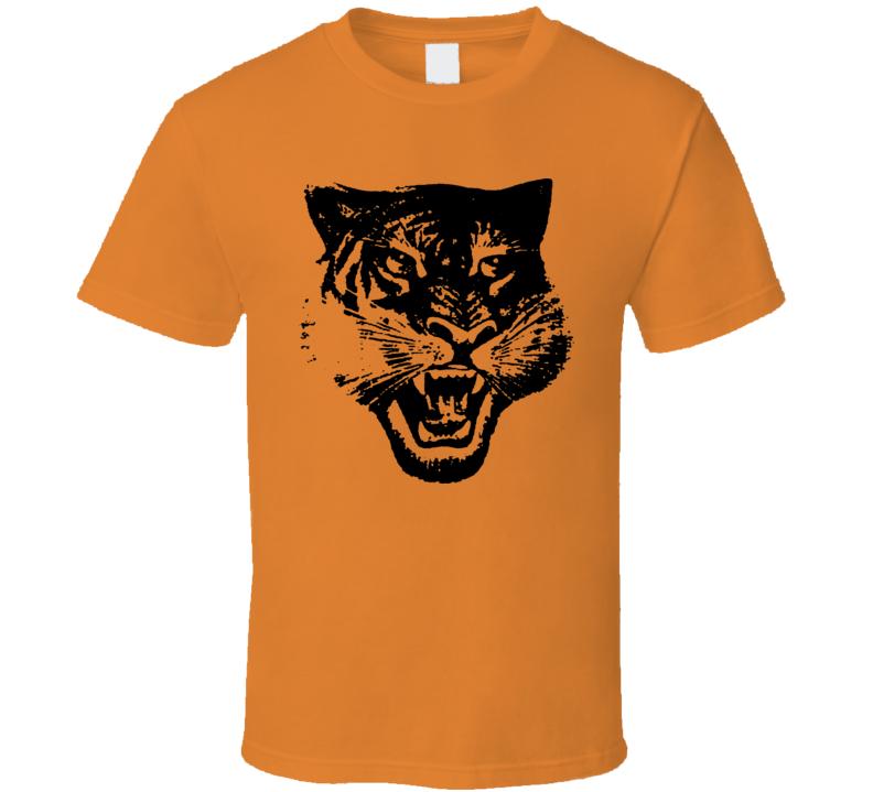 Onitsuka Tiger Asics Retro 80S Logo Shoe Orange T Shirt