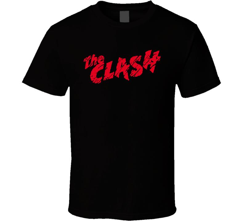 The Clash Punk T Shirt