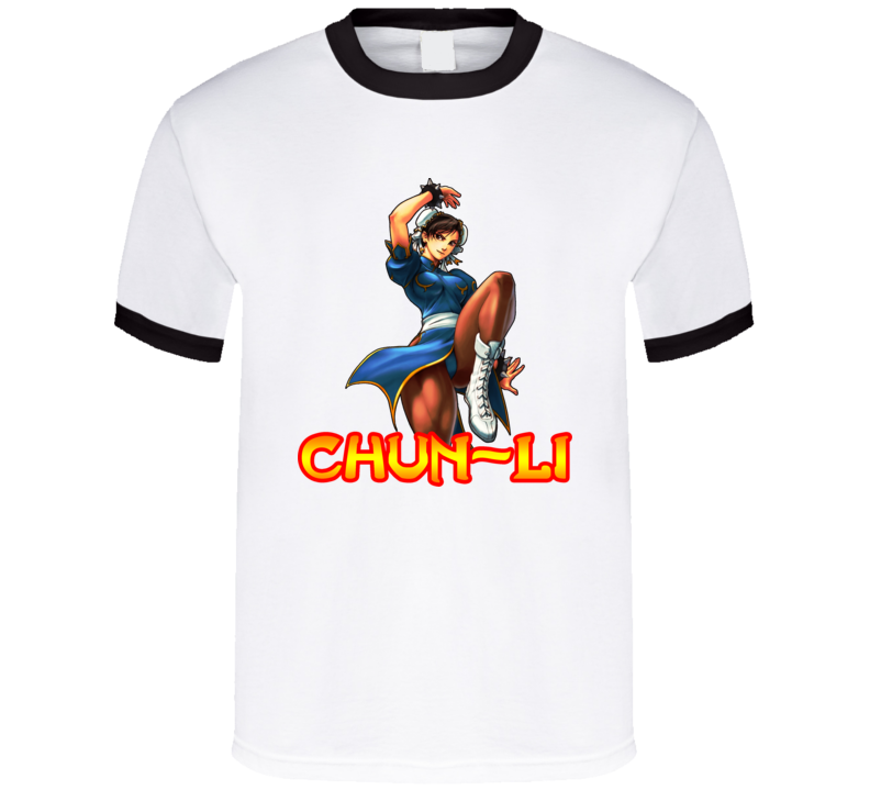 Chung Li Street Fighter T Shirt