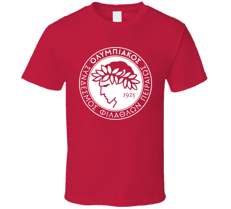 Olympiacos Greece Sports Team T Shirt