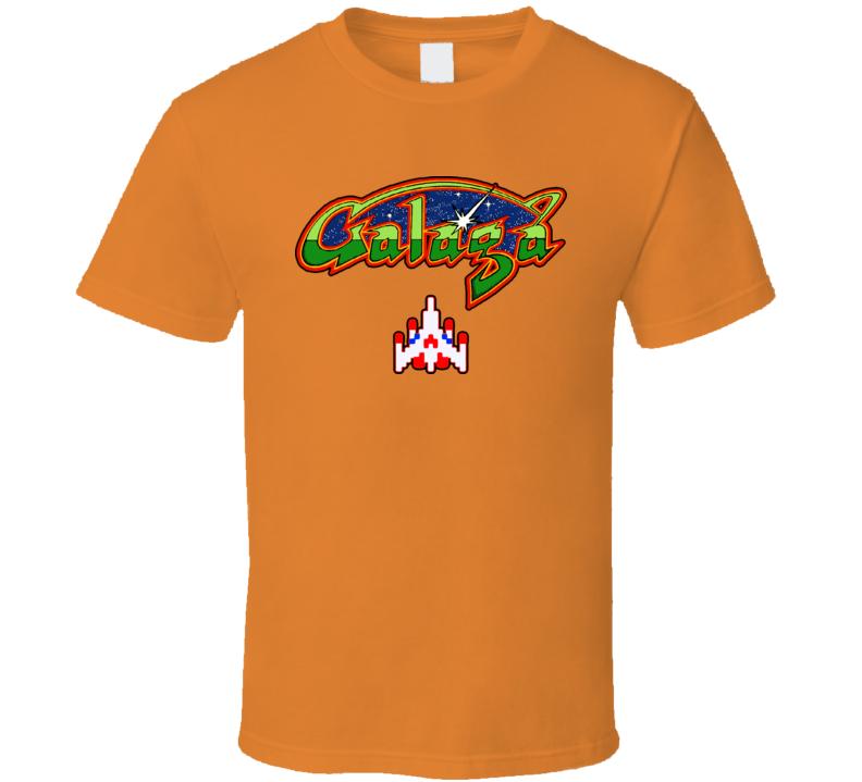 Galaga Video Game T Shirt