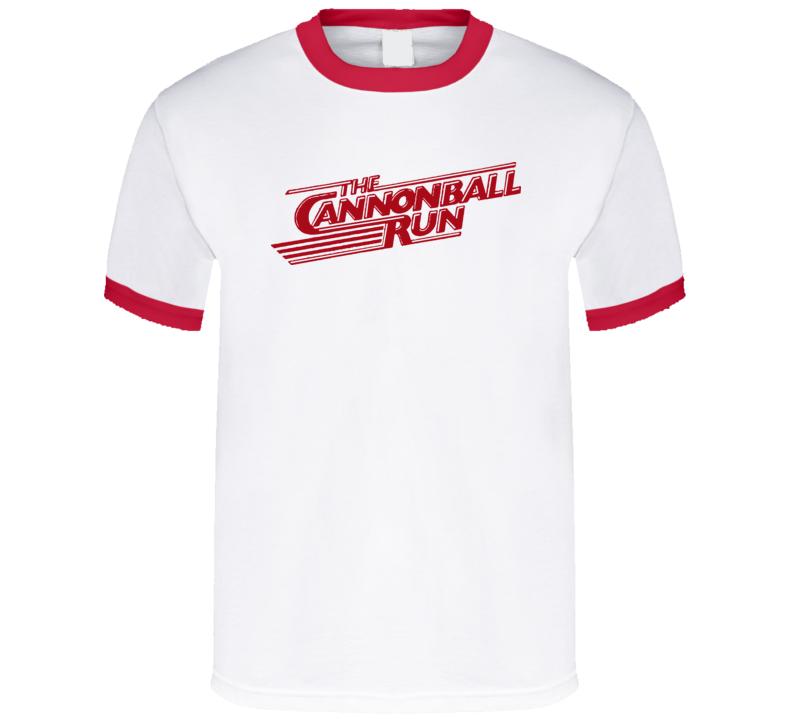 Cannonball Run 80S Movie T Shirt