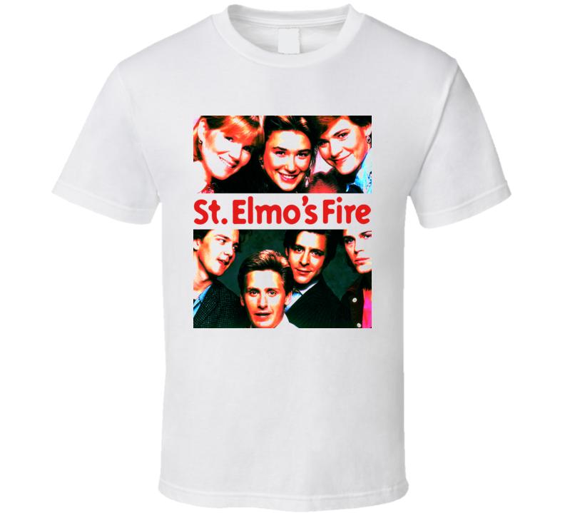 St Elmos Fire 80S Movie T Shirt