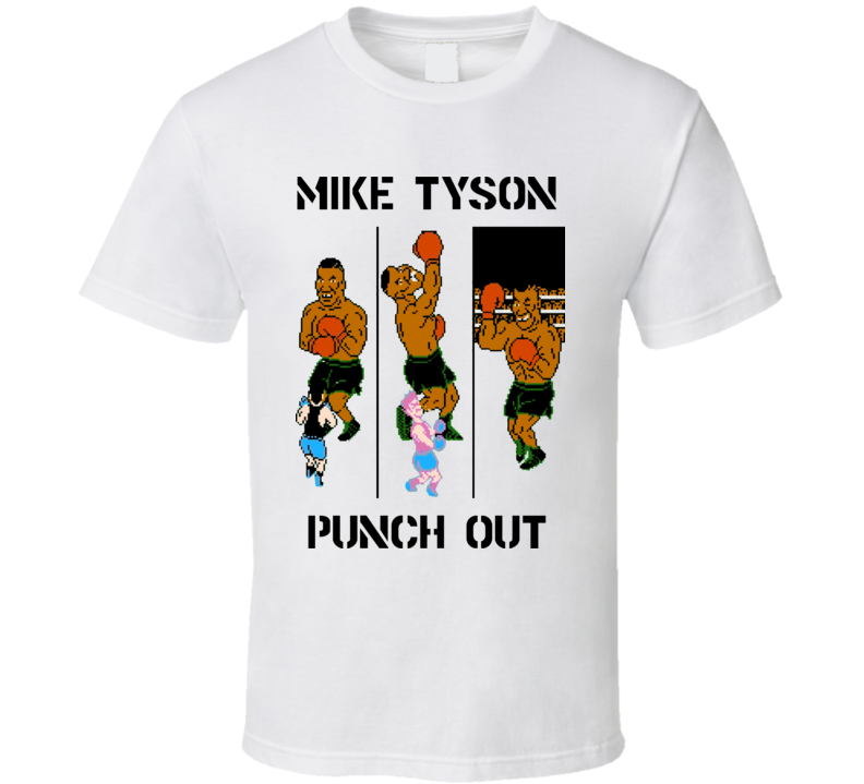 Mike Tyson Punch Out Video Game 80S T Shirt