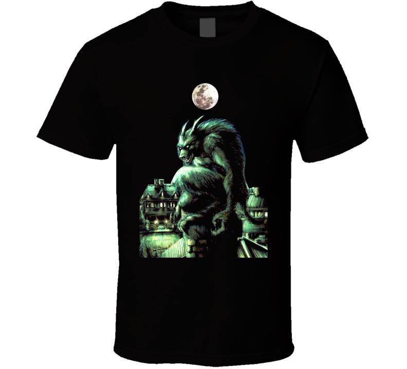 American Werewolf In London Horror T Shirt