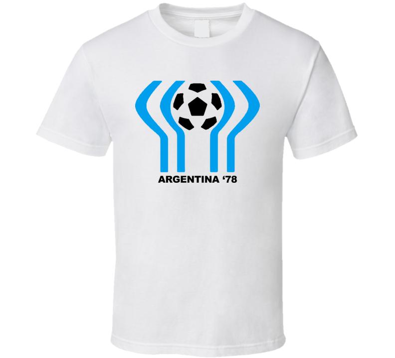 Argentina 1978 World Cup Soccer T Shirt