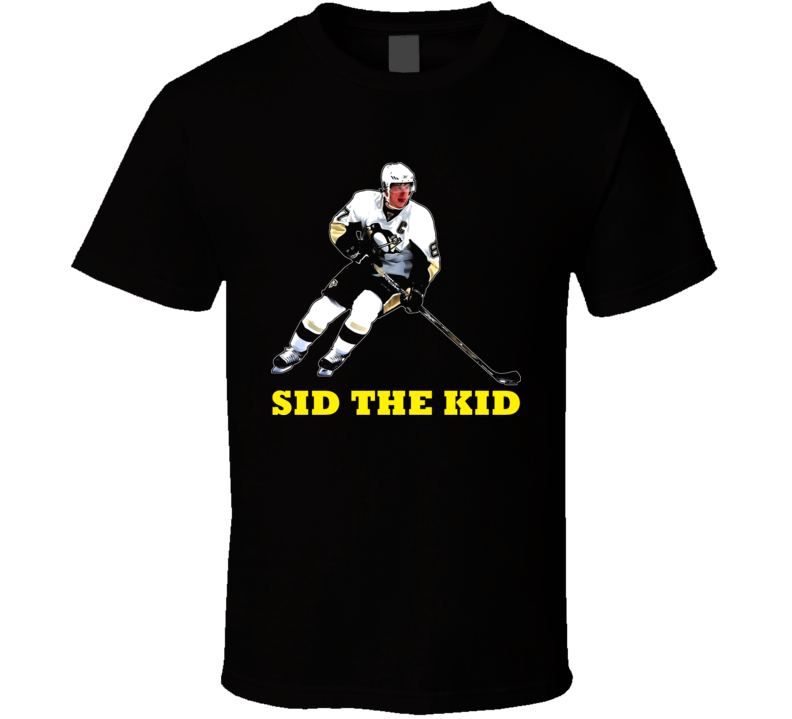 Sidney Crosby Hockey Player Sid The Kid T Shirt
