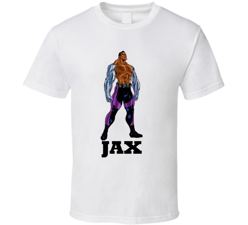 Jax Mortal Kombat Video Game Fighting T Shirt