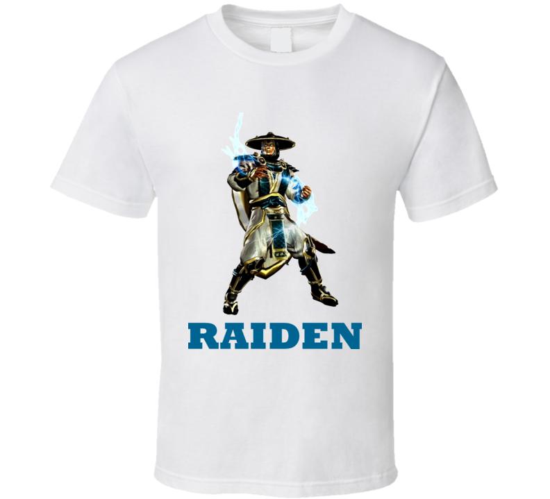 Raiden Mortal Kombat Video Game Fighting T Shirt