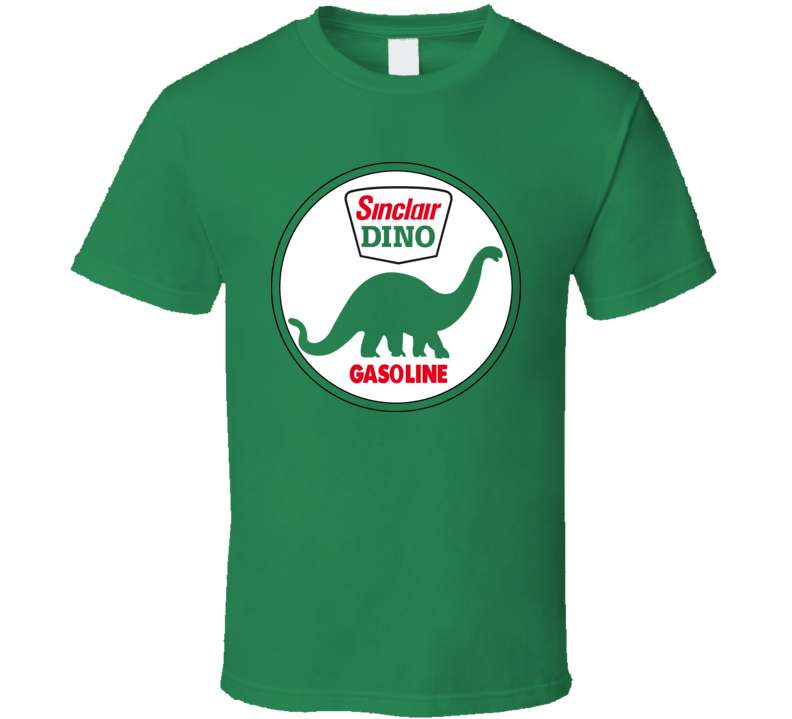 Dino Sinclair Dinosaur Oil Gasoline Retro T Shirt