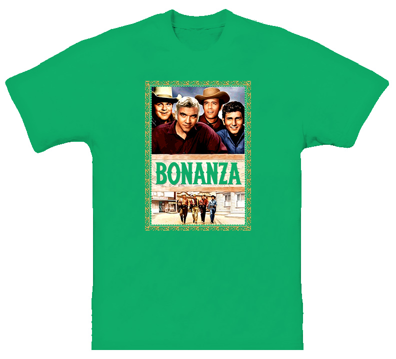 Bonanza TV Show Classic T Shirt