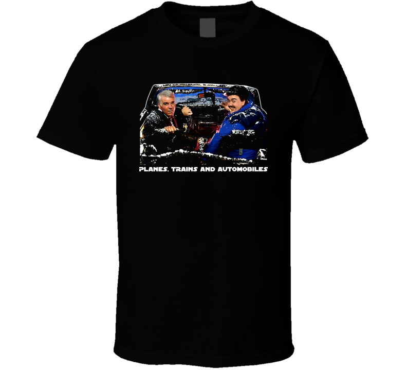 John Candy Planes Trains and Automobiles Film mens T-shirt Comedy genius