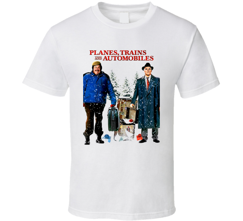 Planes Trains & Automobiles John Candy Movie T Shirt