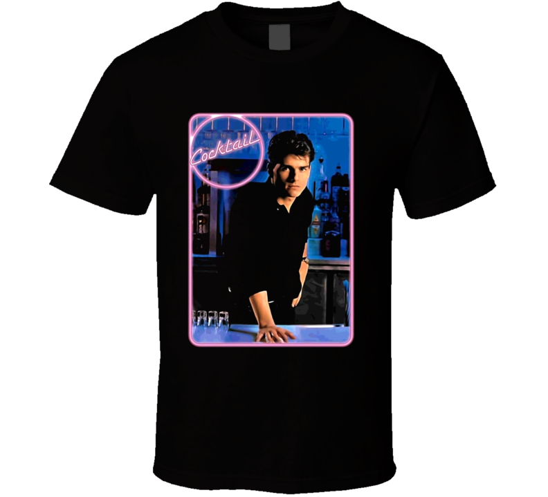 Cocktail Movie 80S Tom Cruise T Shirt