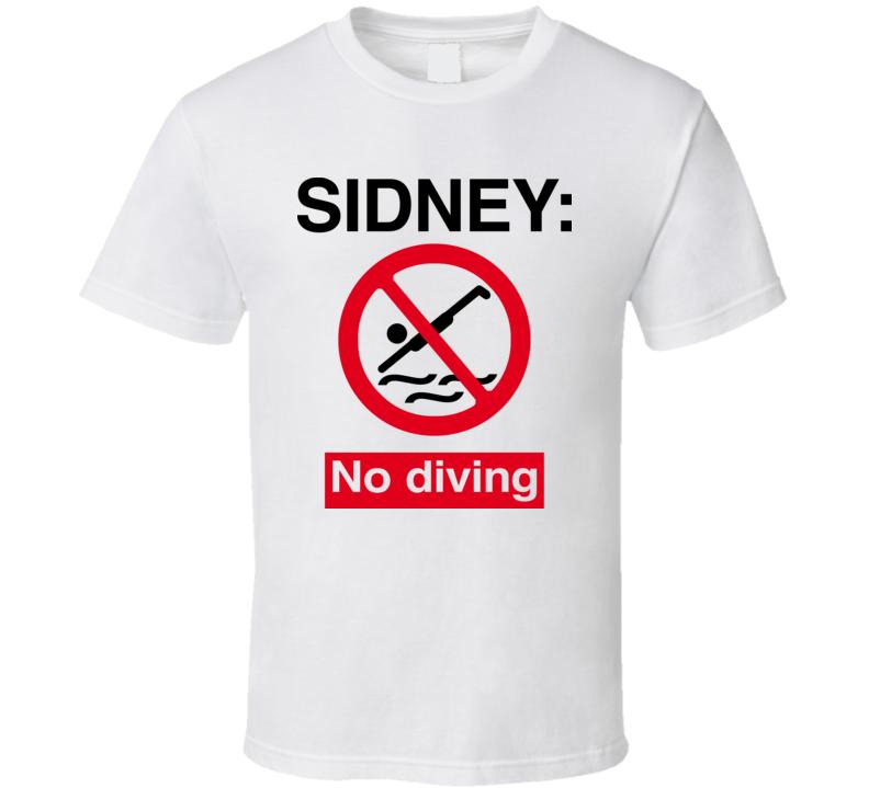 Sidney Crosby No Diving T Shirt