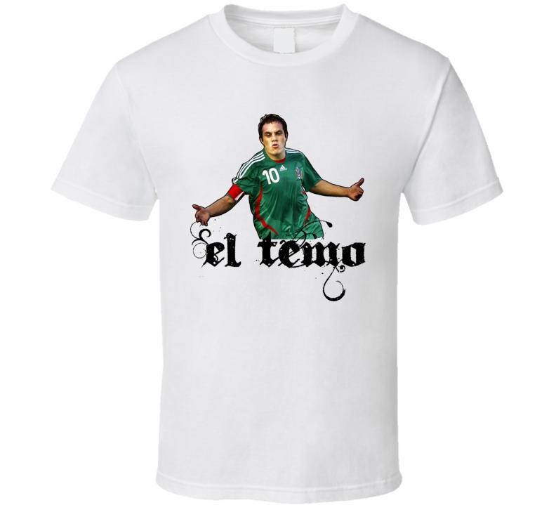 Cuauhtemoc Blanco Soccer Mexico World Cup T Shirt