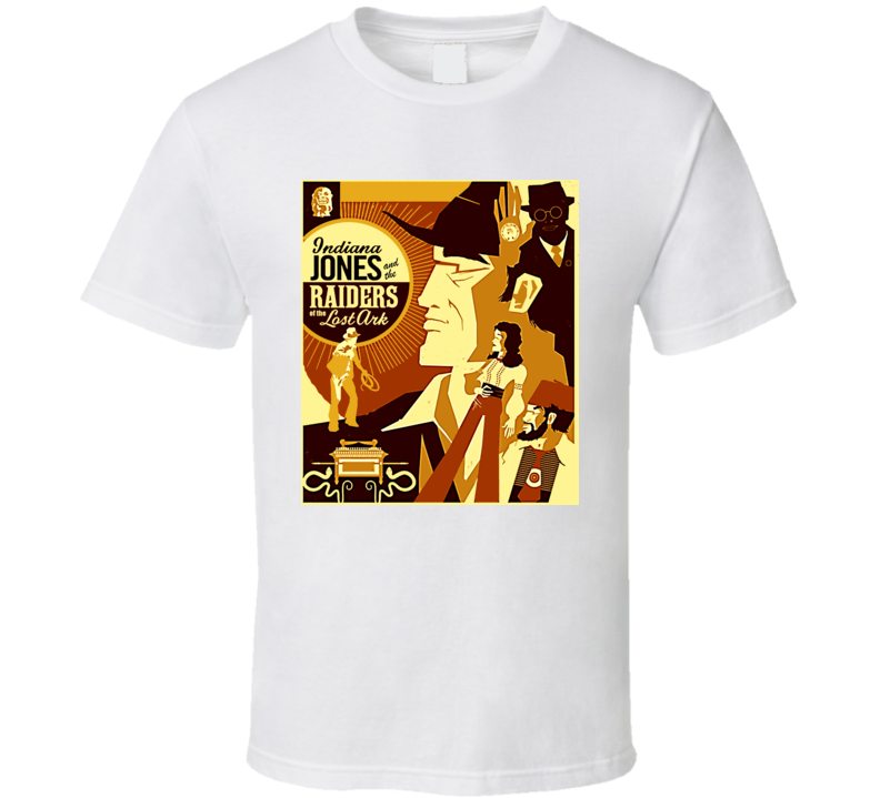 Indiana Jones Raiders Of The Lost Ark Movie T Shirt