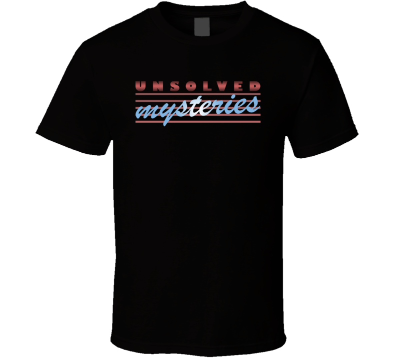 Unsolved Mysteries TV T Shirt