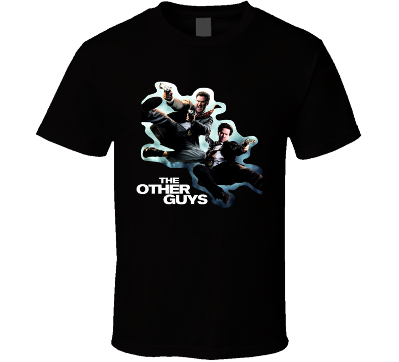 The Other Guys Movie Will Ferrell T Shirt