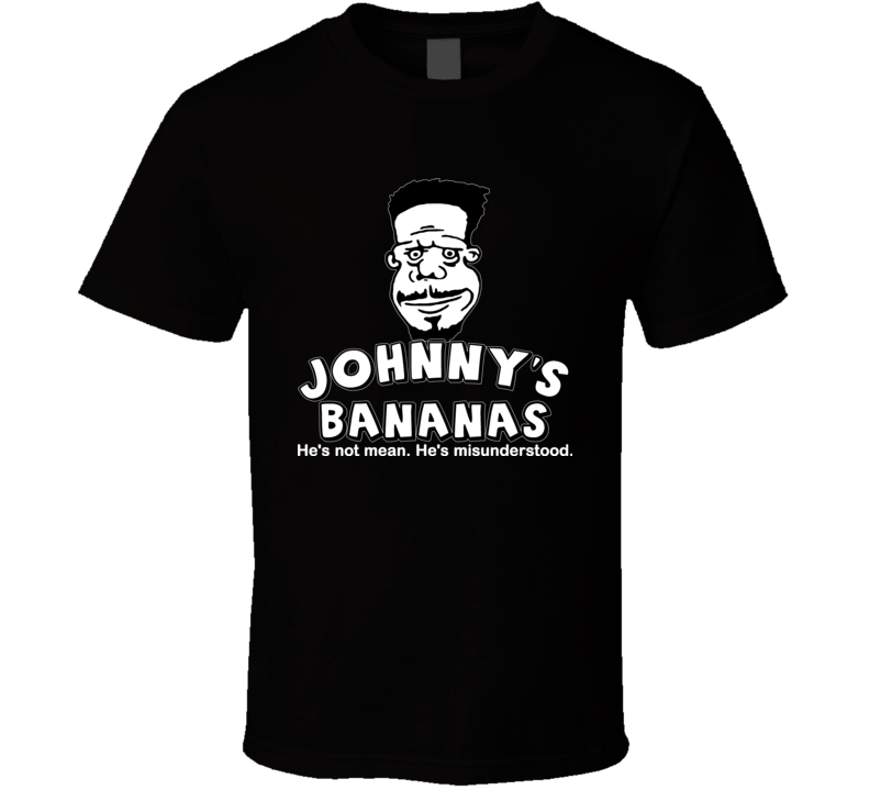 Johnny's Bananas Cartoon Entourage Drama T Shirt
