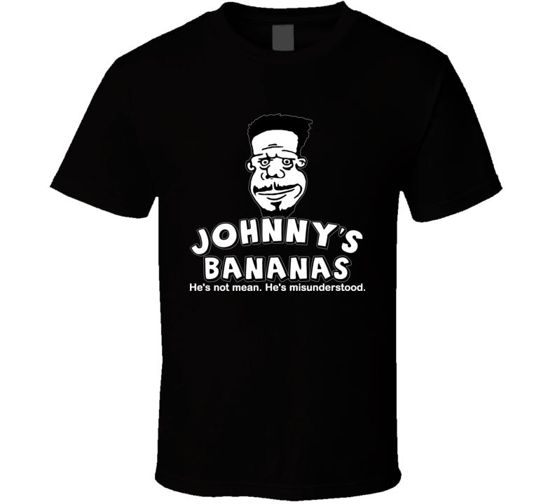 Johnny's Bananas Cartoon Entourage Drama T Shirt