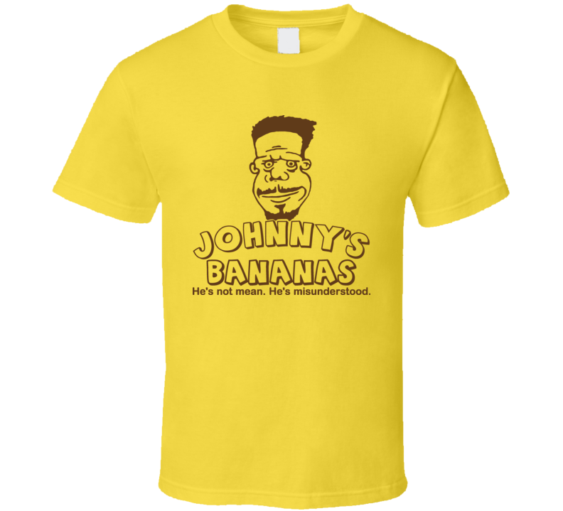Johnny's Bananas Drama Cartoon Entourage T Shirt