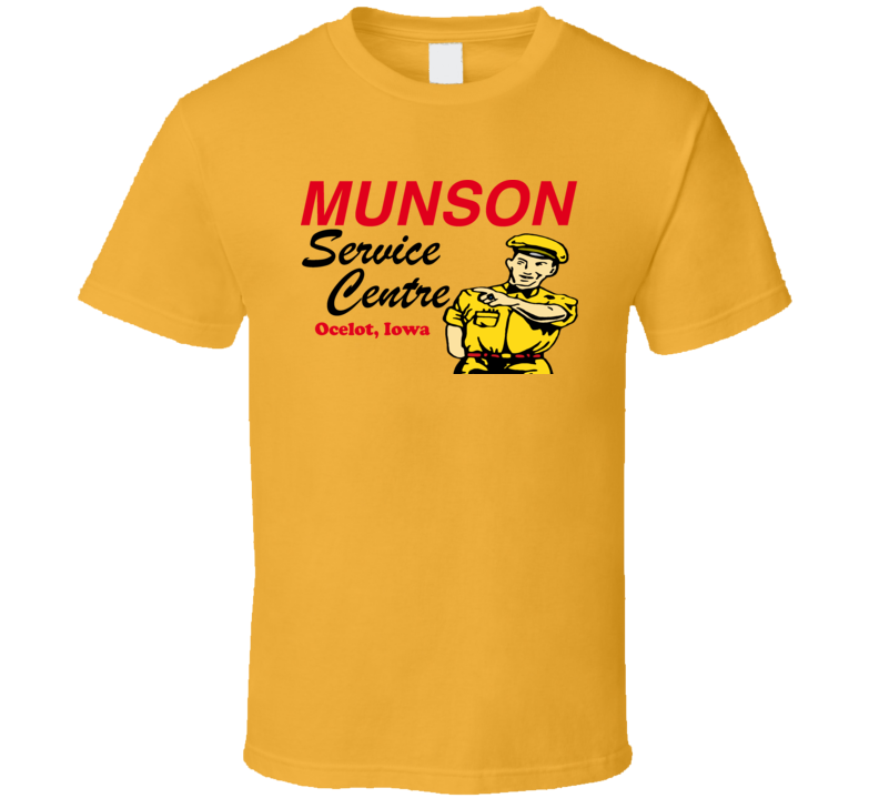 Kingpin Munson Service Movie T Shirt
