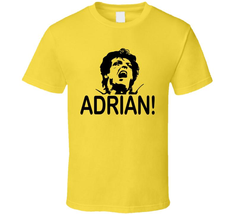 Rocky Adrian Movie T Shirt