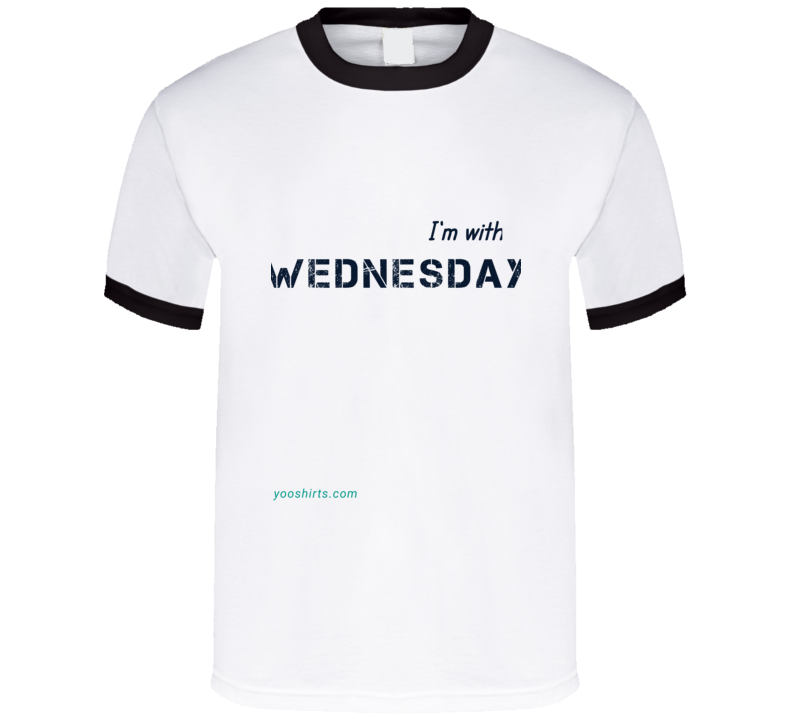Im With Wednesday 2 T Shirt