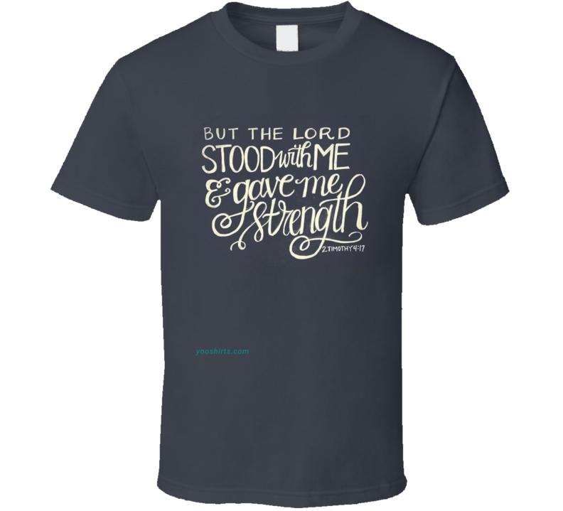 2timothy4-17 T Shirt