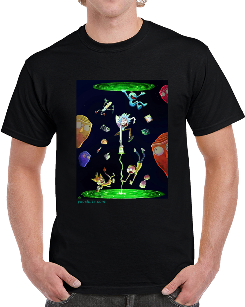 Rick&morty 2 T Shirt