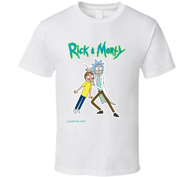 Rickandmorty_4 T Shirt