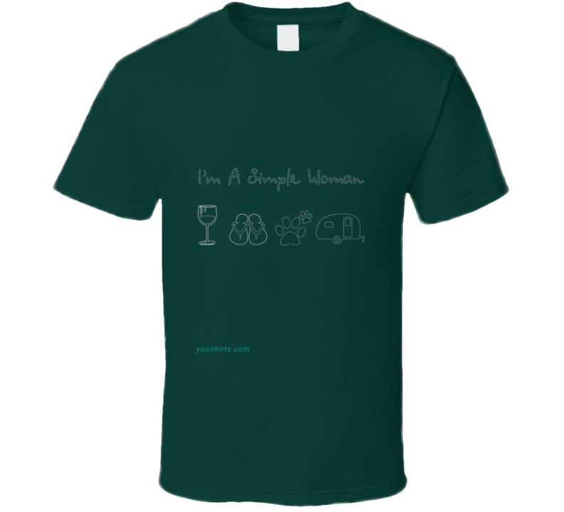 Simple Woman  T Shirt