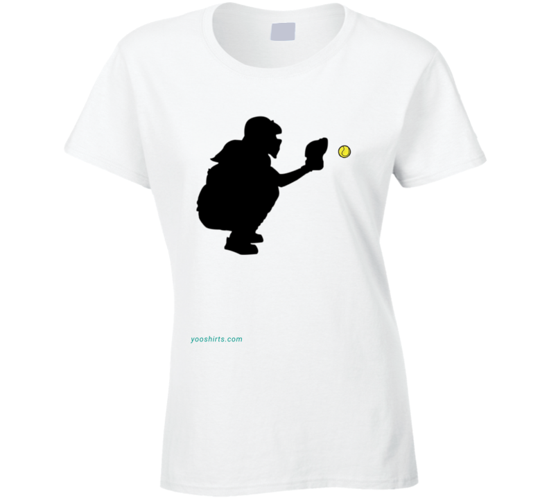 Soft Ball 1 Ladies T Shirt