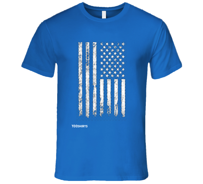 Distressed American Flag T Shirt