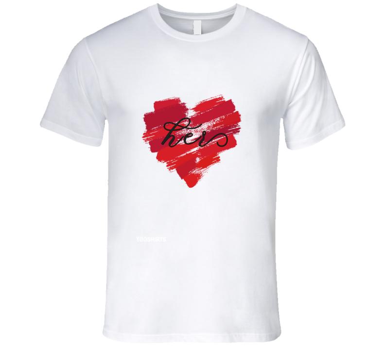Valentine's Hers T Shirt