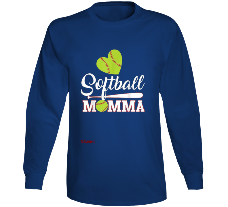 Softball Momma Long Sleeve