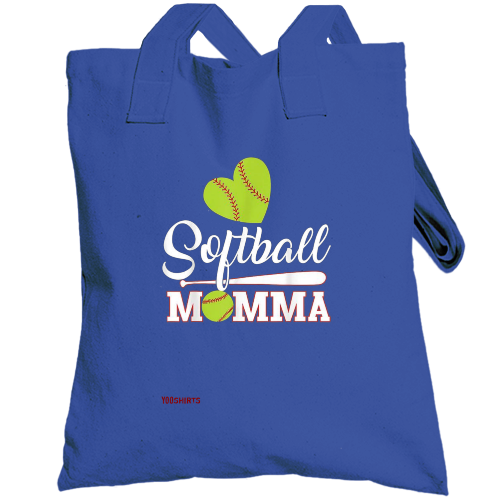 Softball Momma Totebag