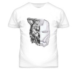 Game Of Thrones Wolf Stark Ironman Popular Fun Graphic T Shirt