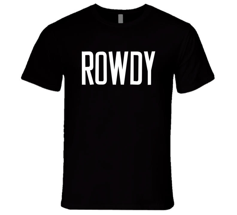 Rowdy Ronda Rousey Woman Ultimate Fighter Versus Zingano 184 Champion T Shirt