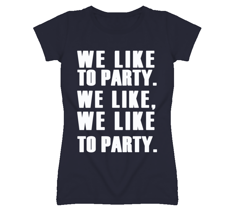 We Like To Party Vengaboys Song Graphic T Shirt