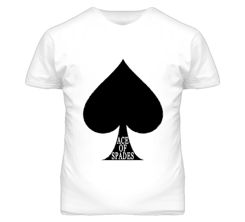 Ace Of Spades Graphic T Shirt