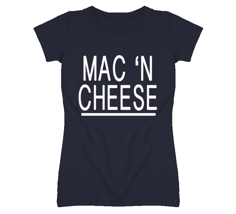 Mac N Cheese Popular Food Graphic T Shirt