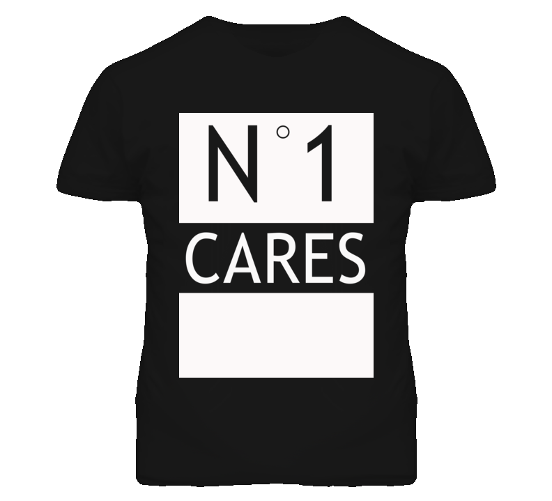 No 1 One Cares Popular Parody Graphic T Shirt