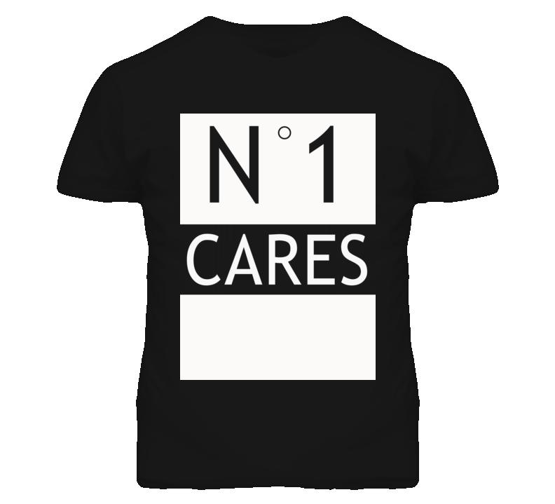 No 1 One Cares Popular Parody Graphic T Shirt