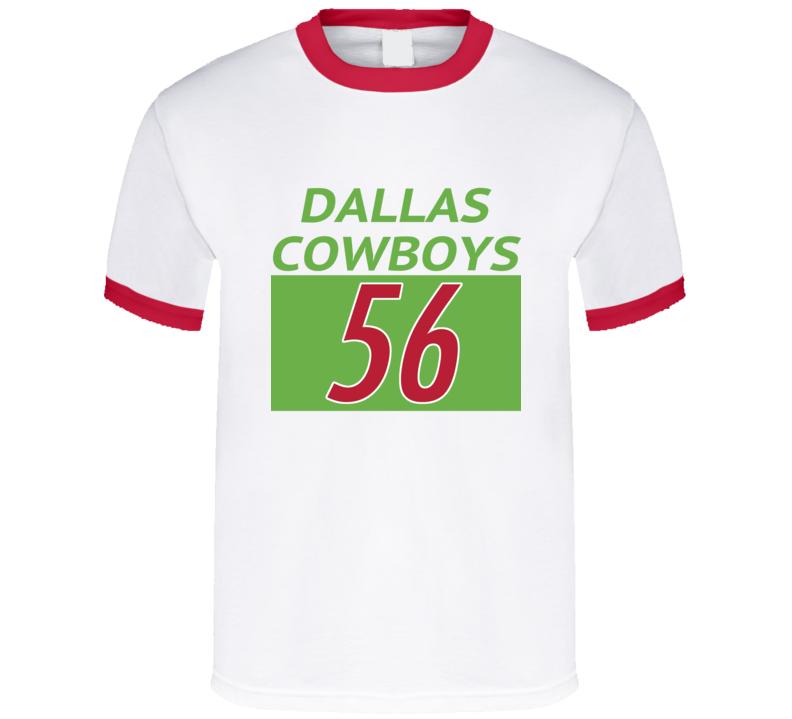 Retro Football Cowboys David Gilmore T Shirt