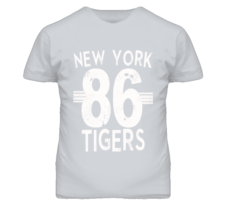 New York 86 Tigers Sports Vintage Look Graphic T Shirt