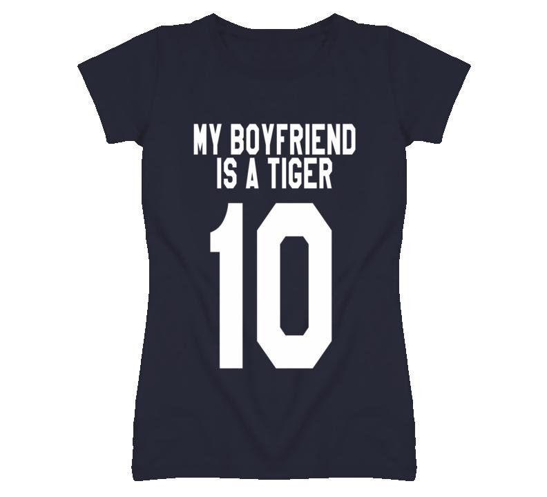 My Boyfriend Is A Tiger 10 New York Graphic T Shirt