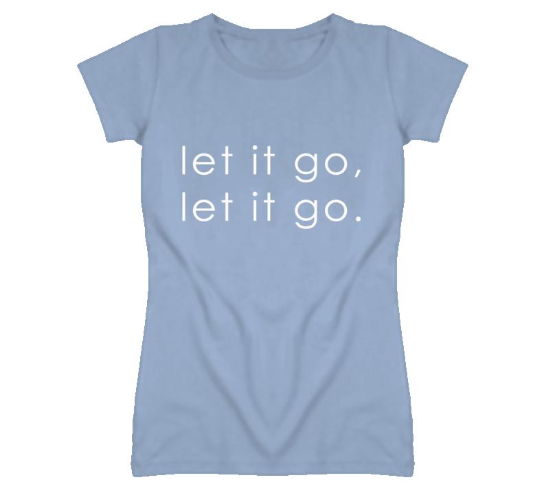 Let It Go Frozen Song Graphic T Shirt