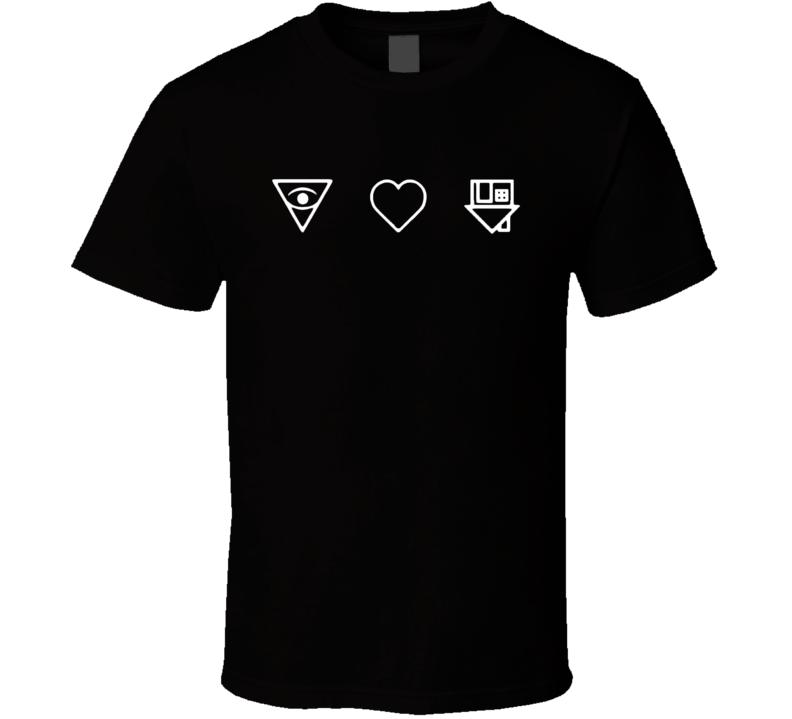 Eye Heart Neighbourhood Love NBHD Float Popular Band Music T Shirt